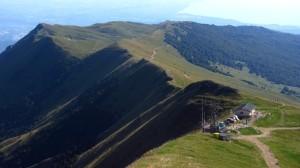 Die letzten zehn Minuten Wanderung führen zur Bergstation des Sessellifts Prada