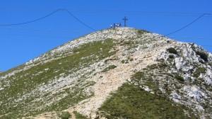 Der Gipfel der Cima Telegrafo