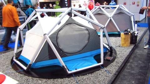 Heimplanet Zelte auf der ISPO