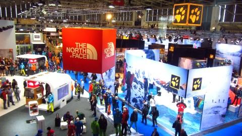 Auf der ISPO 2012