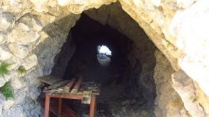Die kleine Höhle an der Cima Valdritta