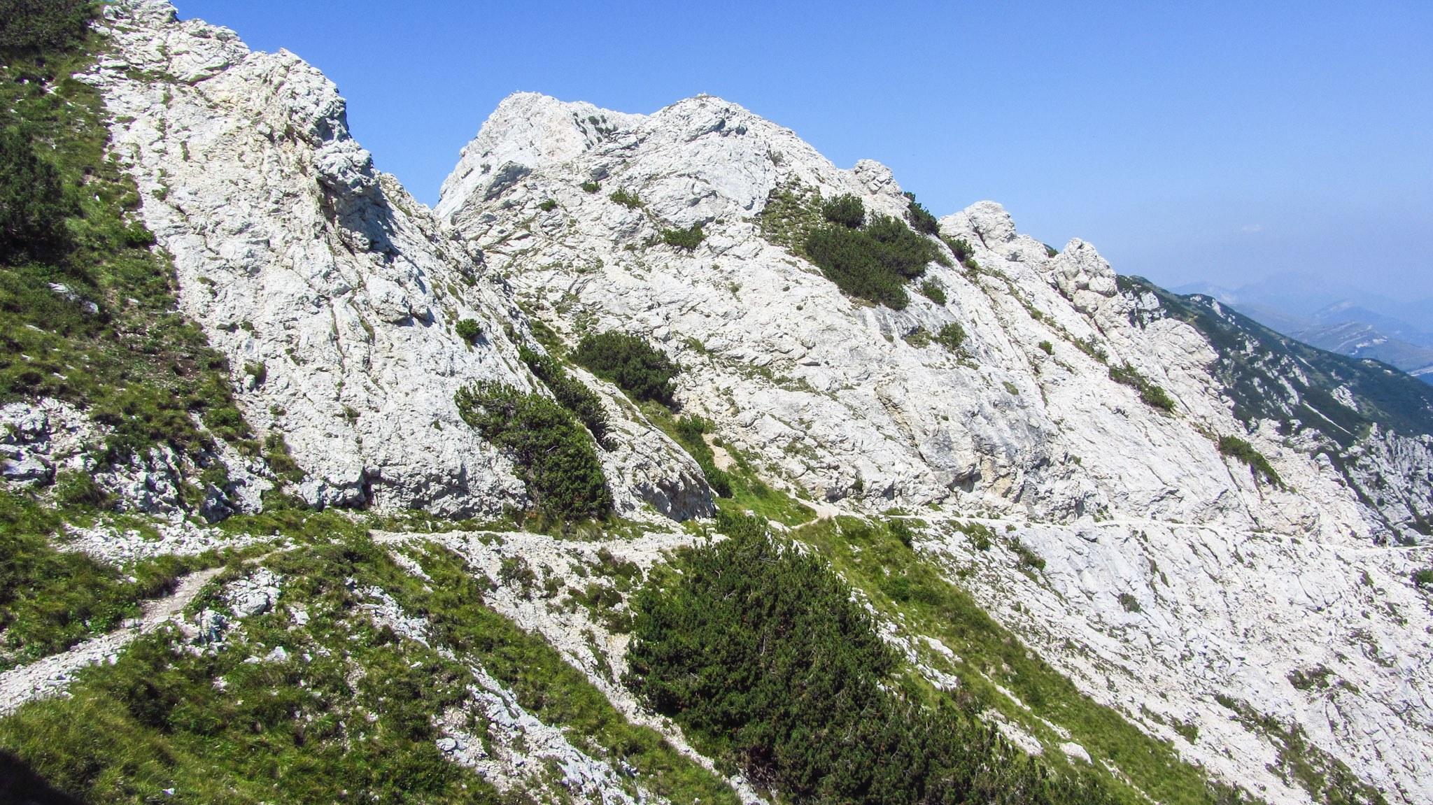 Auf der Tour delle Cime am Monte Baldo
