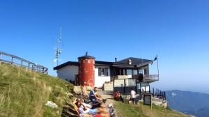 Das Rifugio Chierego bildet fast den Abschluss der Wanderung