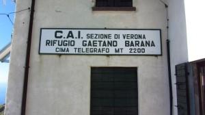 Am Rifugio Telegrafo - Rifugio Gaetano Barana