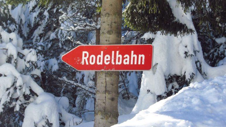 Rodelbahn