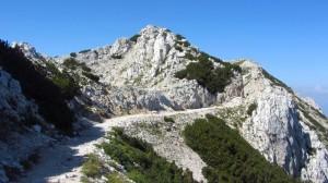 Auf dem Monte-Baldo-Wanderweg zwischen den beiden Rifugi