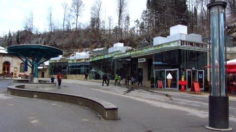 Das Besucherzentrum des Salzbergwerks Berchtesgaden
