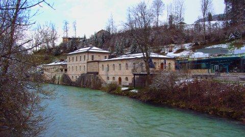 Das Salzbergwerk in Berchtesgaden