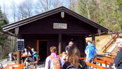 An der Grünsteinhütte