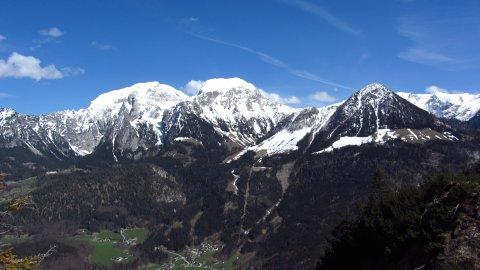 Panorama-Blick vom Grünstein