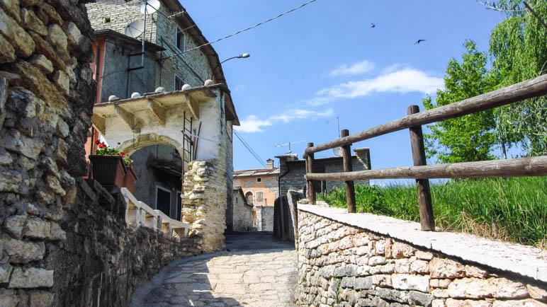 Molina, ein kleines, ruhiges Bergdorf