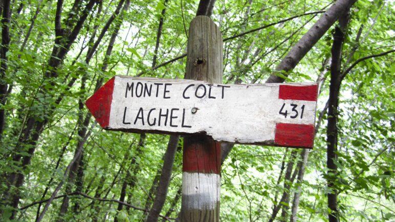 Hier geht's zum Monte Colt und nach Laghel