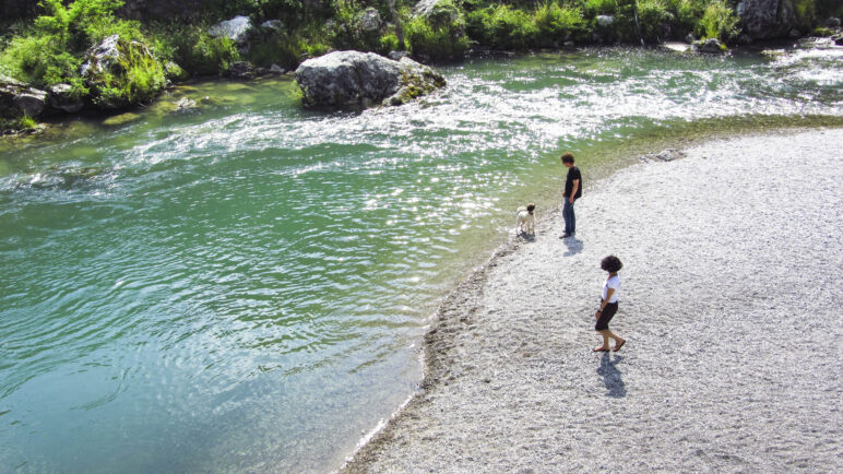 Am Ufer der Sarca