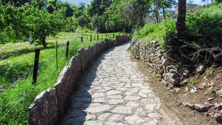 Auf dem Weg zum Parco delle Cascate