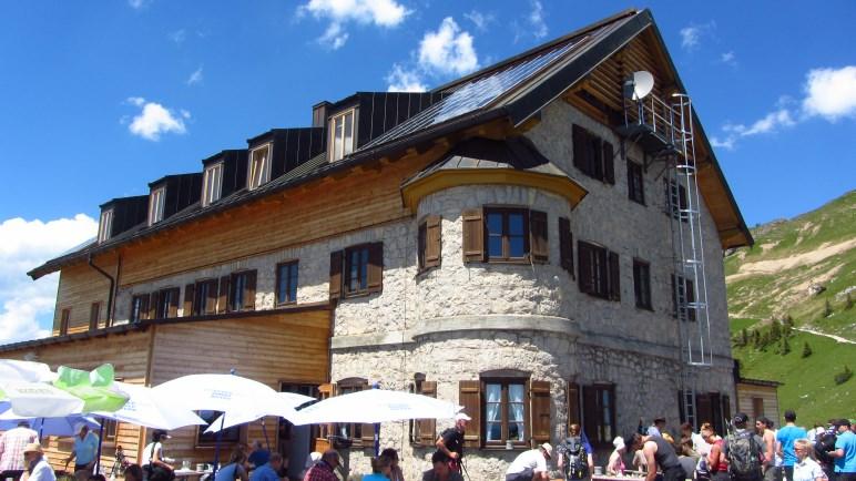 Eines der beliebstesten Wanderziele vom Spitzingsee aus: Das Rotwandhaus