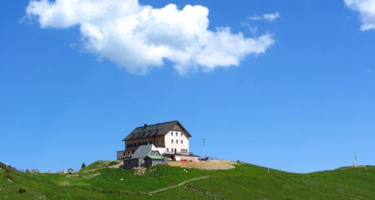 Das frisch renovierte Rotwandhaus