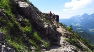 Auf dem Austriaweg am Gosaukamm