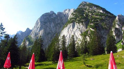 Der Donnerkogel - von der Gablonzer Hütte aus gesehen