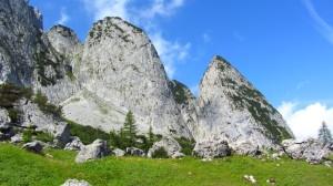 Die Felsberge des Gosaukamms