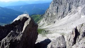 Ein kurzer Blick zurück zur Hofpürglhütte