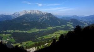 Großartiger Talblick auf dem Austriaweg / Bibelsteig