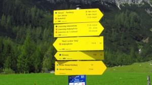 Viele Wanderwege starten an der Unterhofalm