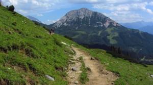 Der Weg zur Hofpürglhütte