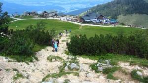 Abstieg zur Steinlingalm