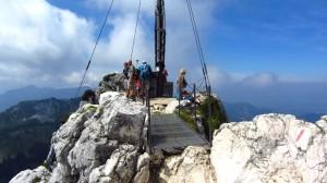 Der Gipfel der Kampenwand