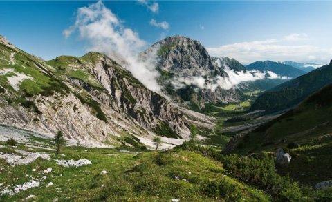Die Gramai-Alm im Karwendel - Foto: Heinz Zak