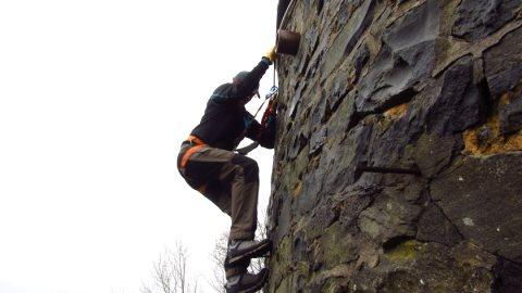 Der Mauertanz-Klettersteig der Enzianhütte