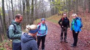 Die Bloggerwanderung der Wanderblogger - bei nicht ganz so tollem Wetter