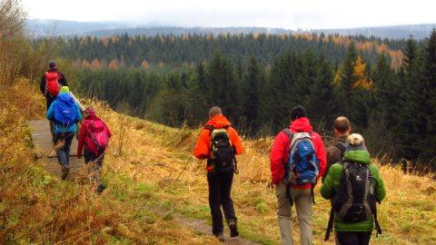 Wandern in der Rhön - von der Wasserkuppe zur Fuldaquelle