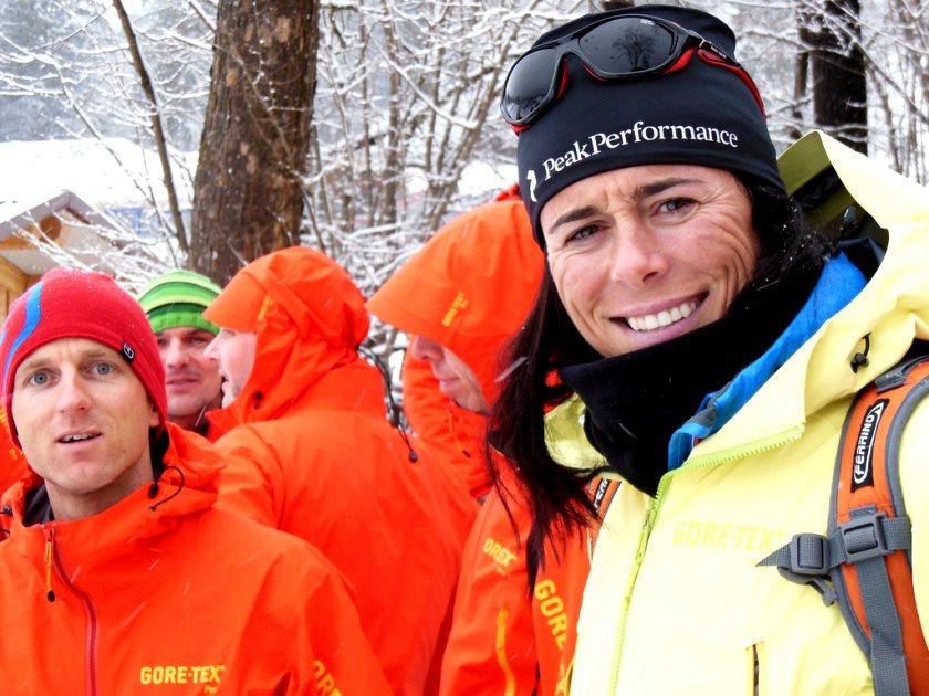 Die spanische 14-Achttausender-Besteigerin Edurne Pasaban beim Blogger Summit - Foto: Gore