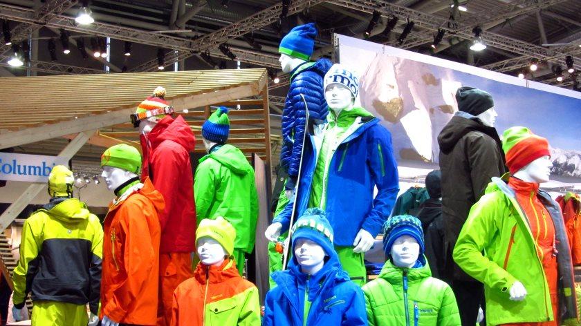 Bunt wie immer zeigt sich die Outdoor-Mode auf der ISPO 2013 in München