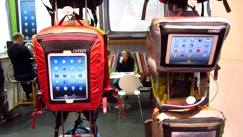 Osprey-Rucksäcke mit iPad Tasche