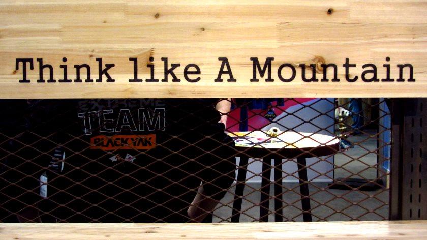 Think like A Mountain – interessantes Motto bei Black Yak