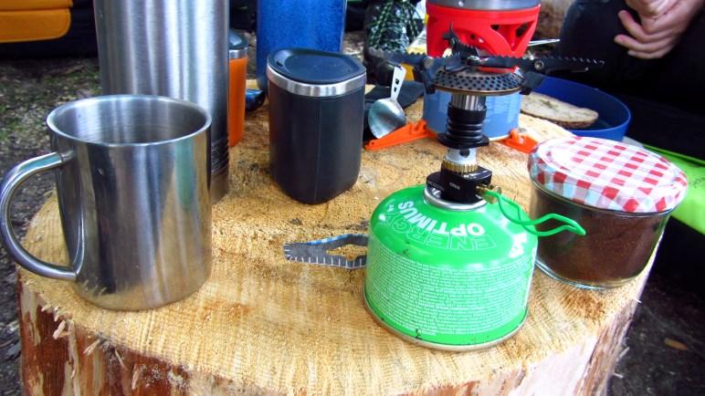 Frühstück im Basecamp