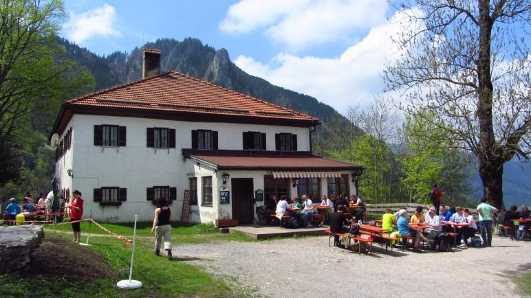 Das Berggasthaus Petersberg