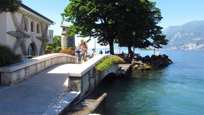 An der Mündung des Aril in den Gardasee