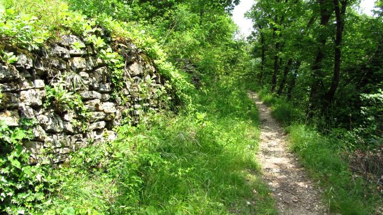 Ein schöner Wanderweg in Richtung Pieve