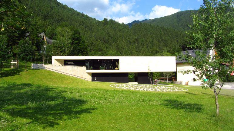 Das Alpenpark-Karwendel-Haus in Hinterriß
