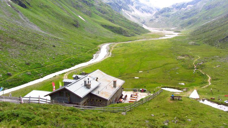 Die Amberger Hütte und die Sulz