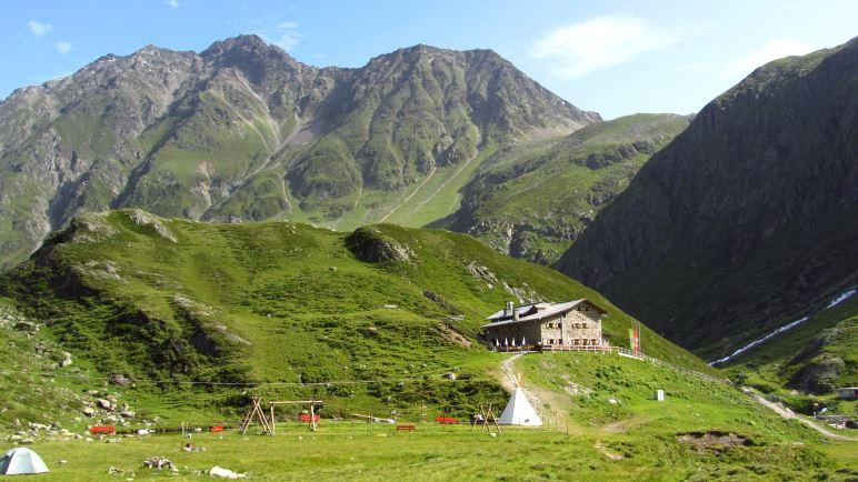 Die Amberger Hütte