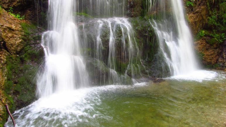 Zwischen dem Schliersee und dem Spitzingsee liegen die Josefsthaler Wasserfälle