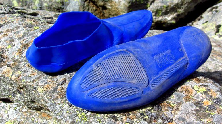 Die Schuhe sind sehr dünn und sehen entsprechend labbrig aus