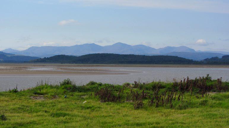 Wattenmeer und Berge in Cumbria