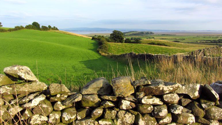 Englische Hügellandschaft
