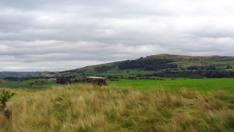 Der Blick vom Burghügel in Kendal ist schon sehr schön