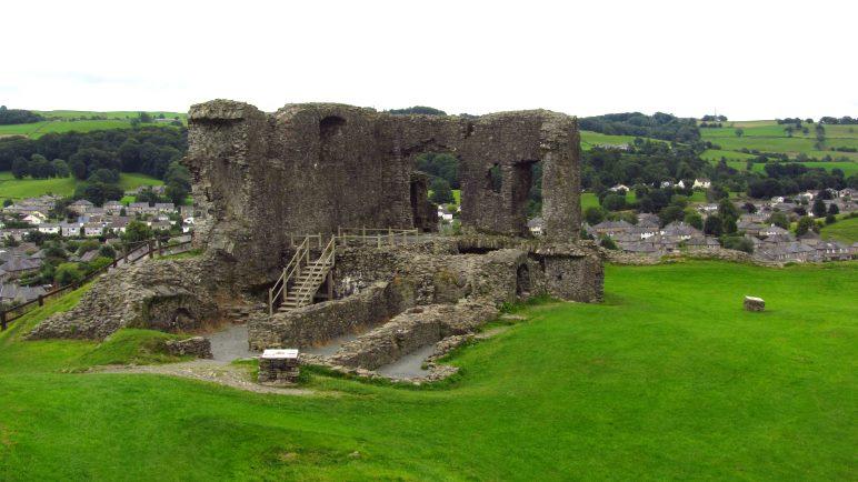 Die Reste der Burg von Kendal